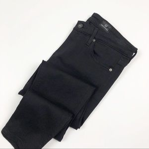AG | Black The Legging Ankle Super Skinny Jeans